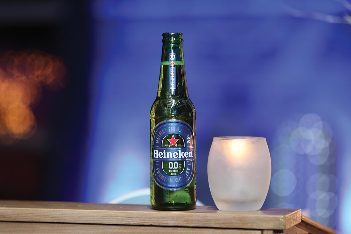 Mancini Beverage Celebrates Debut of Heineken 0.0