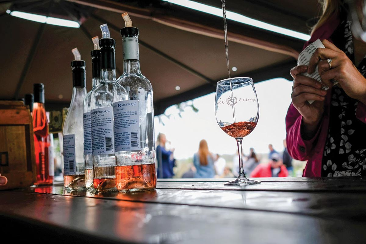 Newport Vineyards Celebrates New Rosés for Spring