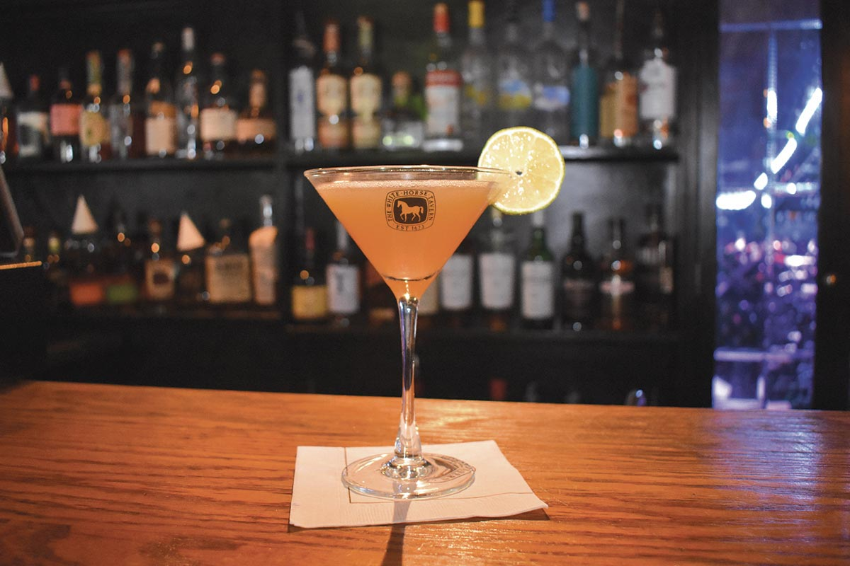Serving Up: The Mayes Daiquiri at White Horse Tavern