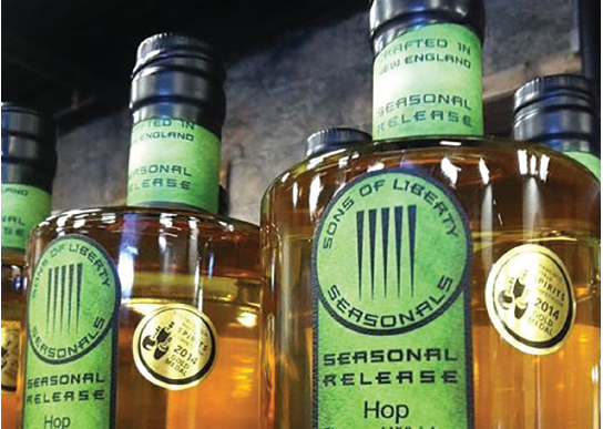 SONS OF LIBERTY RELEASES SEASONAL FLAVORED WHISKEY FLAVORED WHISKEY