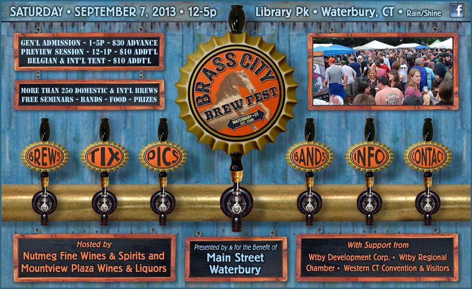 September 7, 2013: Brass City BrewFest