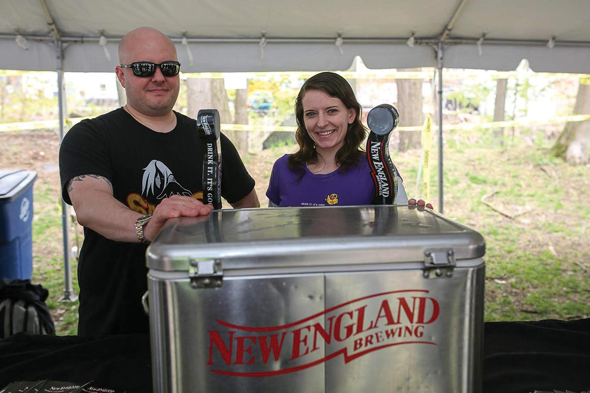 Second Annual Hockanum Brew Fest Serves Tastes