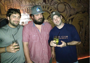 Guest Steven Pothier; Jesse Hedberg of Local 121, Justine's and Fluke; and Vito Lantz of The Dorrance.