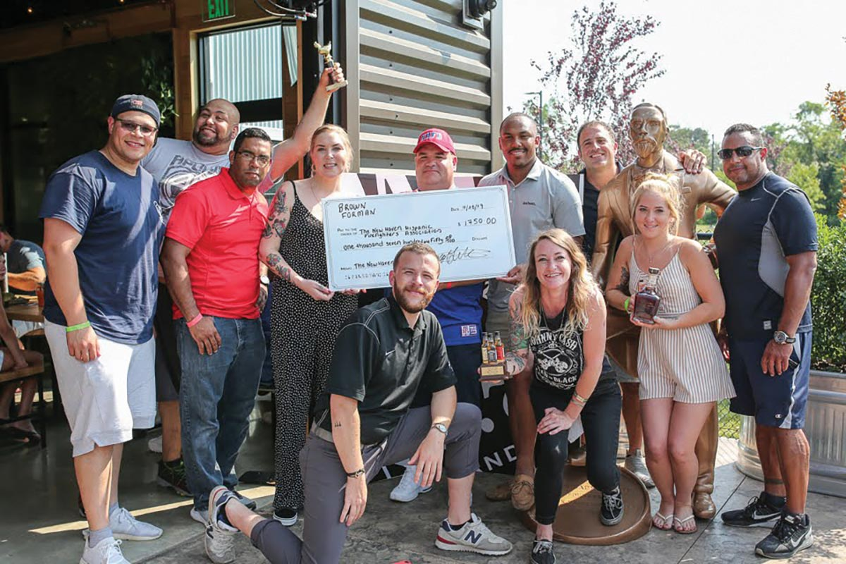 Community Fundraiser and Competition Features Jack Daniel's