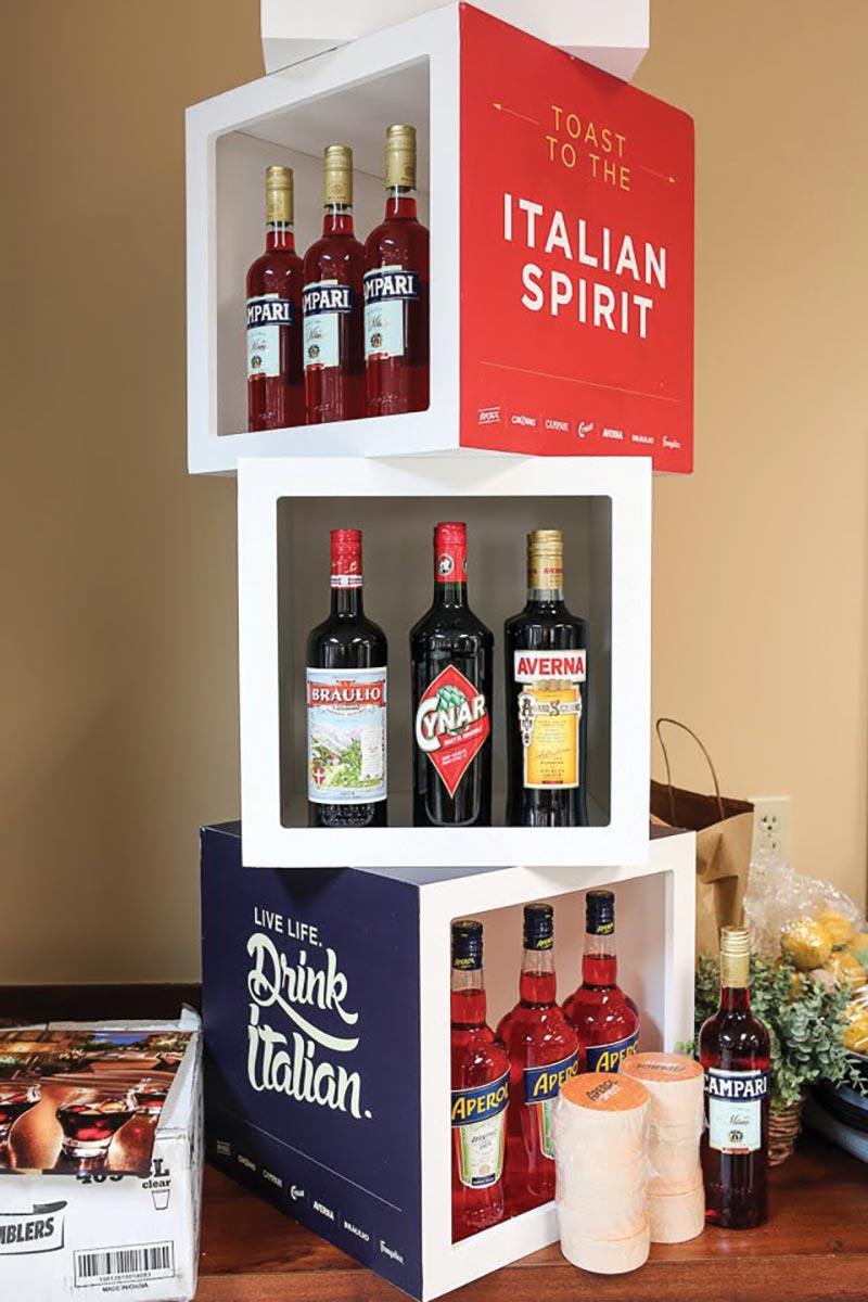 Brescome Barton Celebrates Campari's Spirits Portfolio