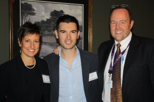 Susan McQuade, Brand Manager, Winebow, Philippo Zardetto  of Zardetto Wines in Italy and Tom Simpson, General Manager  of Winebow.