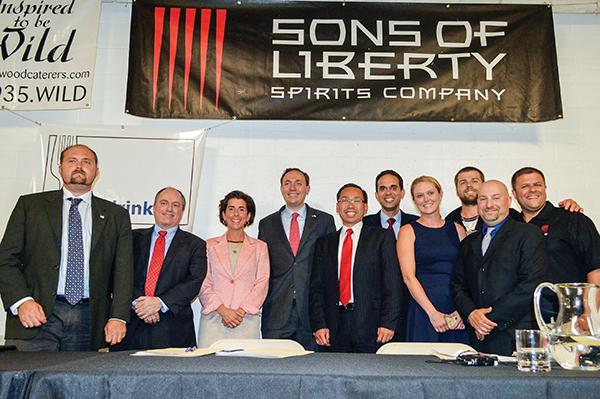 Sons of Liberty Hosts Gubernatorial Candidates