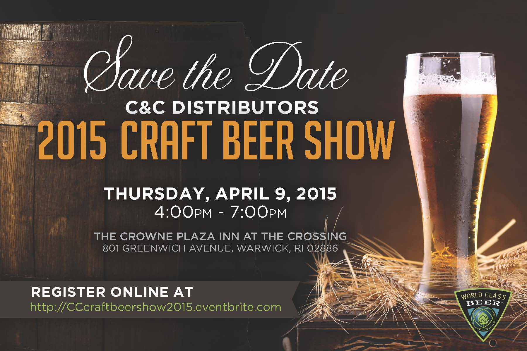 April 9, 2014: Trade-Only Event/C&C Distributors Craft Beer Show