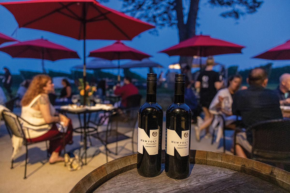 Newport Vineyards Hosts Summer Pairing Dinner