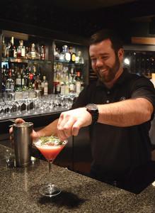Bartender Craig Roche
