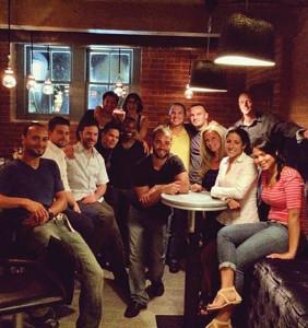 Front row: Ramon Velasquez, Server, Mezon, Danbury; Jonathan Rodriquez, Bartender, Baró, Fairfield and Neat, Westport; Andy Seymour, Owner, Liquid Productions; Christian Hurtado, Bartender, Baró and Tierra; Javelle Taft, Bartender, Baró and Tierra; Richard Reyes, Owner, Baró and Mezon; Corinne Snopkoski; Sumita Bhambree, General Manager Mezon; Kiki Rodriquez. Back row: Jaime Johel, Bartender, Baró and Paloma, Stamford; Lulu Martinez, Liquid Productions; Diego Loret de Mola, Founder, Barsol Pisco; Matt Stanczak, Owner, Stanziatos, Danbury; Jason Snopkoski, Beverage Director, Baró. Not pictured: Jo Randall, Beverage Director, Tierra; Lindsey Rosetta, Beverage Director, Neat, Westport's new coffee and craft cocktails establishment; and Juan Reyes, General Manager, Baró.
