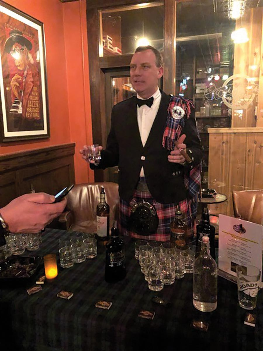 Burns Night Honors Famous Scottish Poet with Scotch Tasting