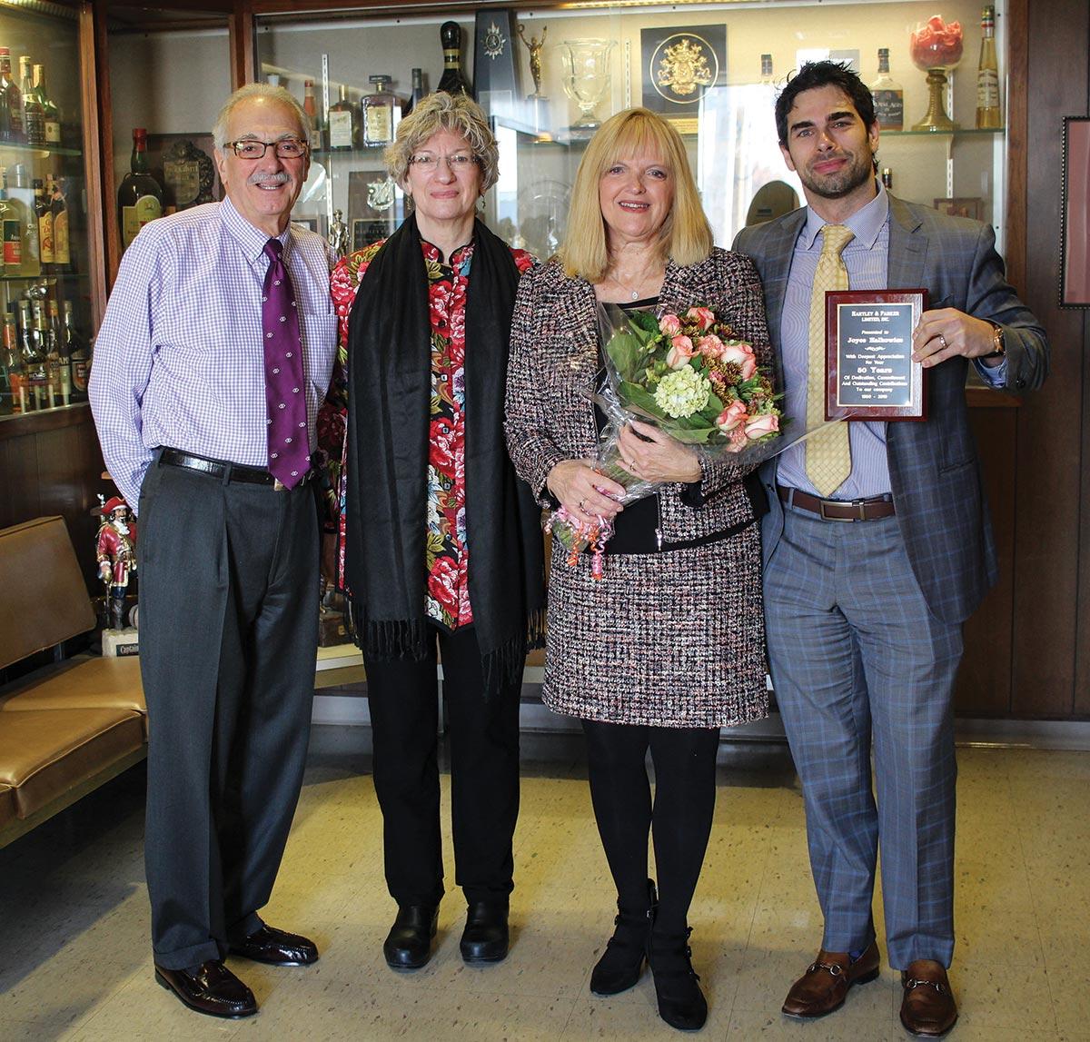 Hartley & Parker Celebrates Halkowicz's 50-Year Anniversary