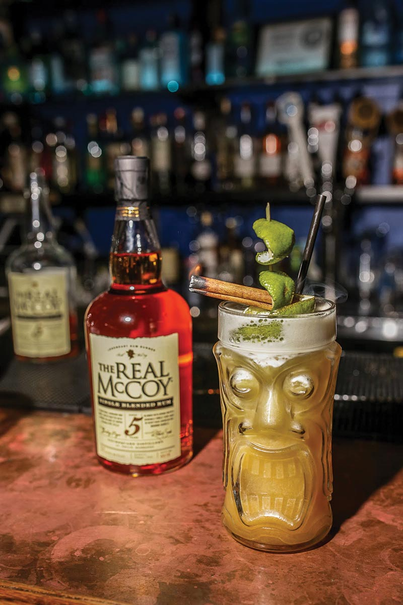 Tiki Cocktail Competition Showcases The Real McCoy Rum