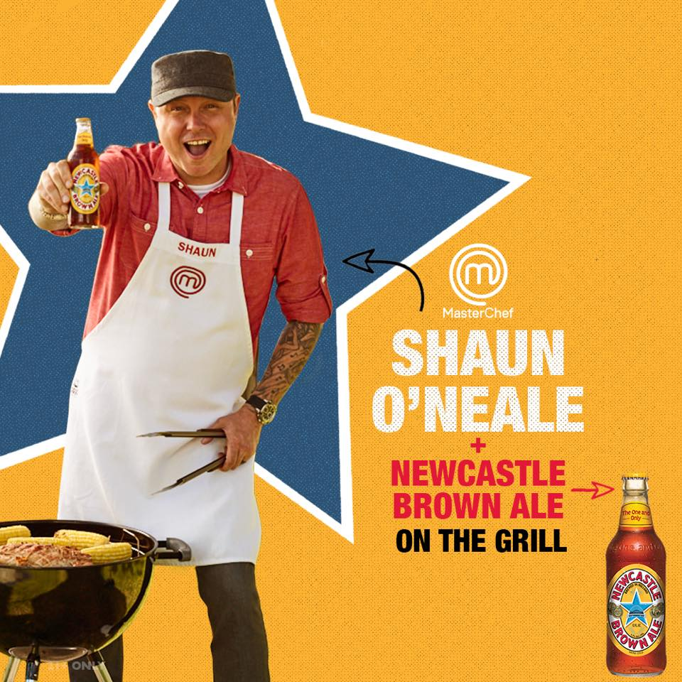 Newcastle Brown Ale Partners with MasterChef Winner