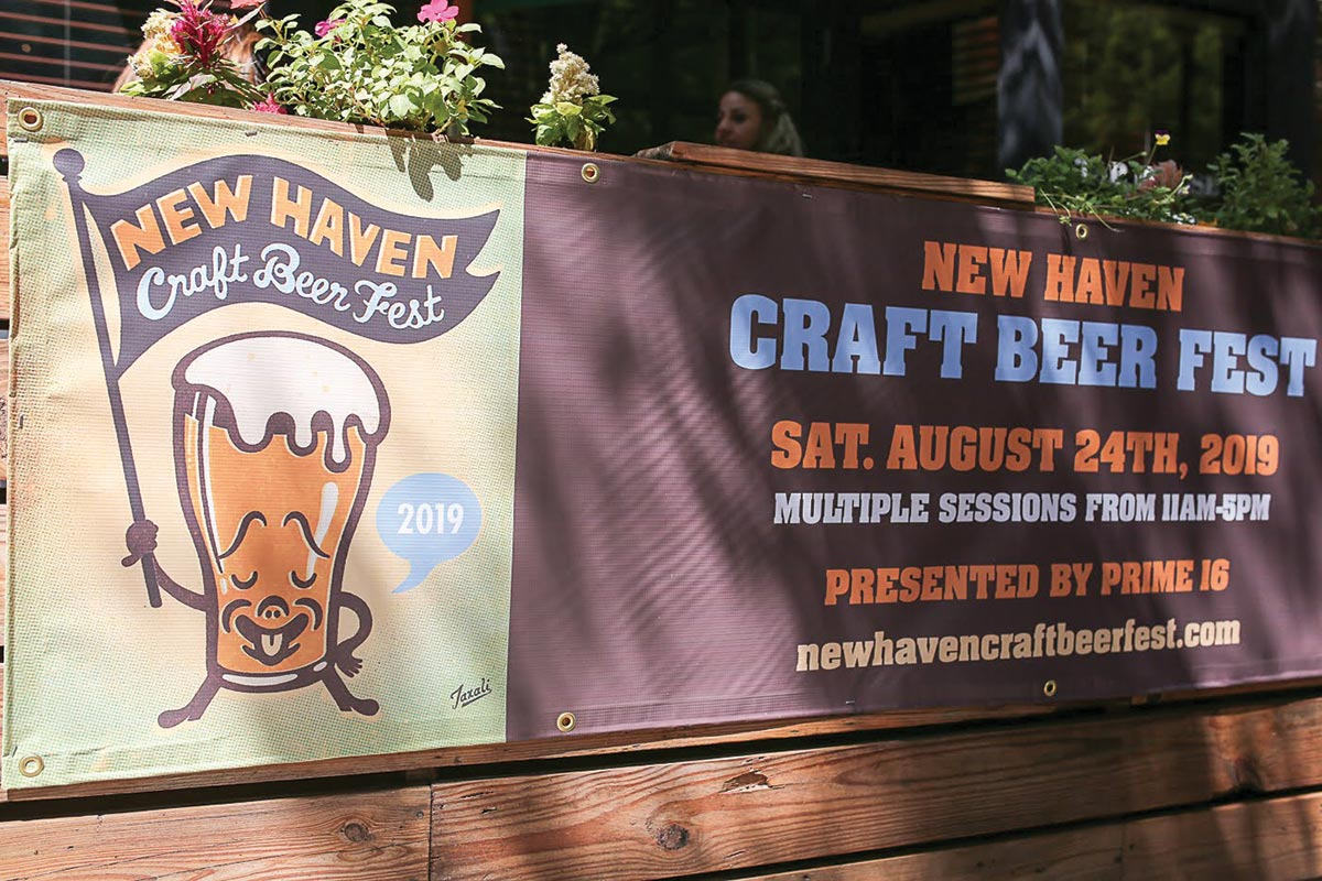 New Haven Craft Beer Fest Pours Outdoors in Third Year