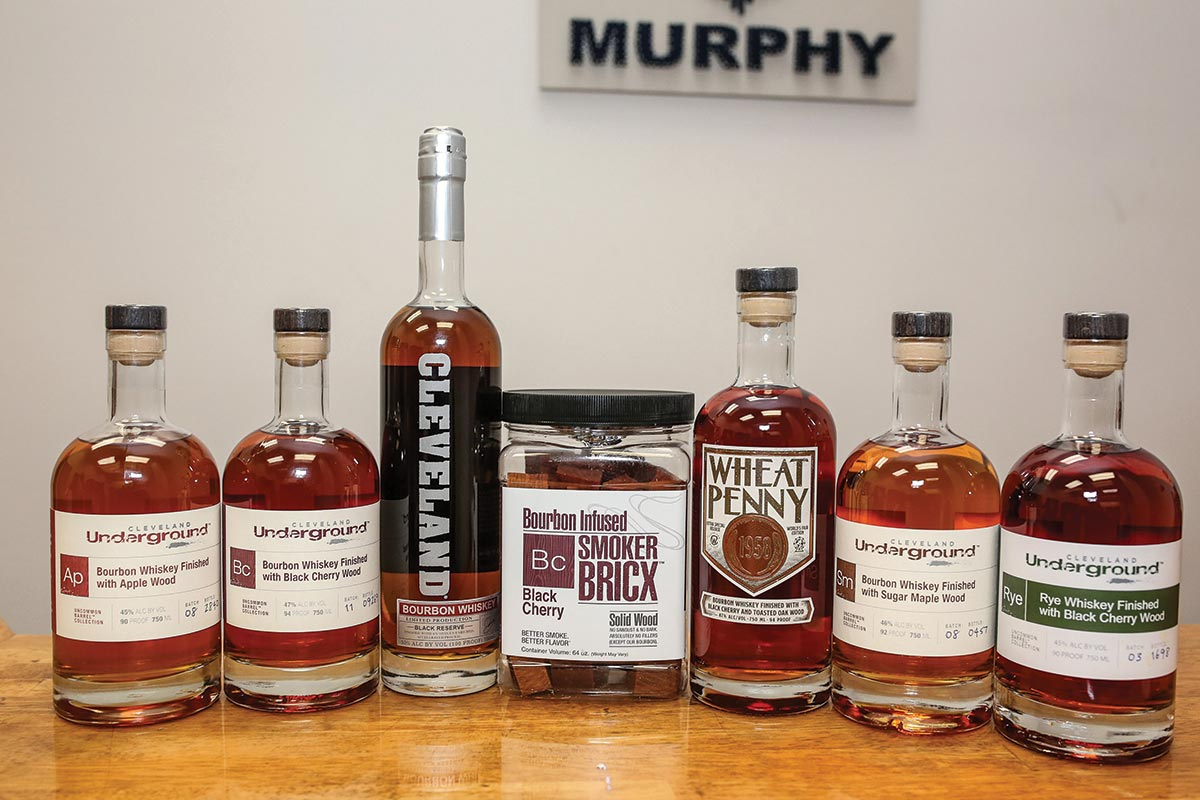 Murphy Distributors Sales Meeting Spotlights Cleveland Whiskey