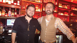 Brian Jackman, Bartender, 4 Eat & Drink with John Tsipouras, Sales Representative, Slocum & Sons.