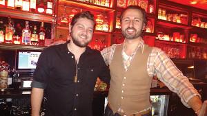 Brian Jackman, Bartender, 4 Eat & Drink with John Tsipouras, Sales Representative, Slocum & Sons.