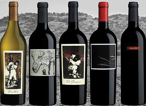 Featured wines by The Prisoner Wine Co.