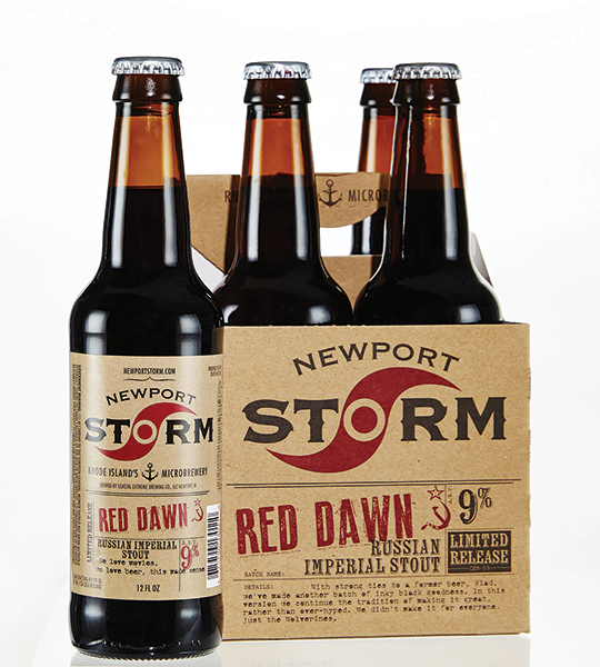Newport Storm Releases Red Dawn Russian Imperial Stout