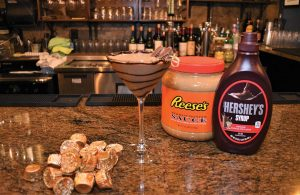 Reese's Peanut Butter Cup Martini from 50 West.