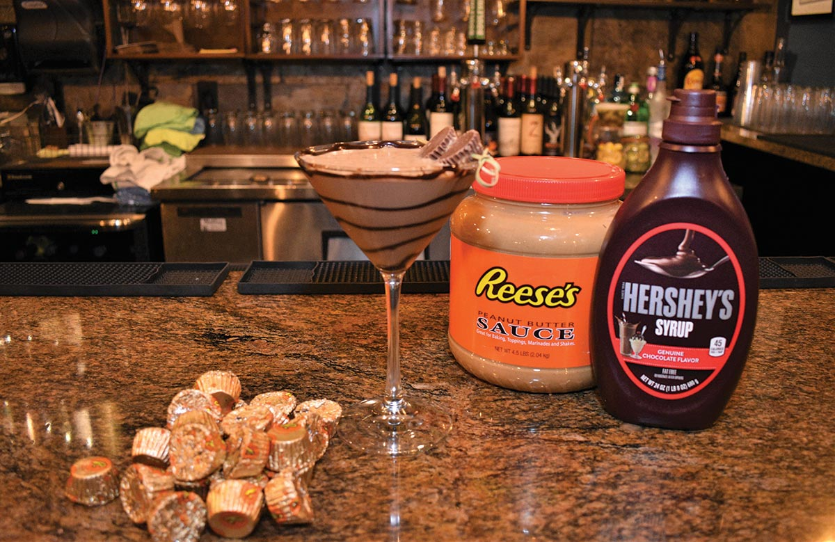 Serving up: The Reese's Peanut Butter Cup Martini at 50 West