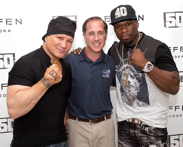 Warwick Retailer Hosts 50 Cent for Effen Vodka Bottle Signing