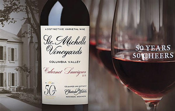 Chateau Ste. Michelle Celebrates 50th Anniversary with New Wines