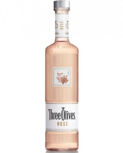 Three Olives Debuts Rosé Vodka