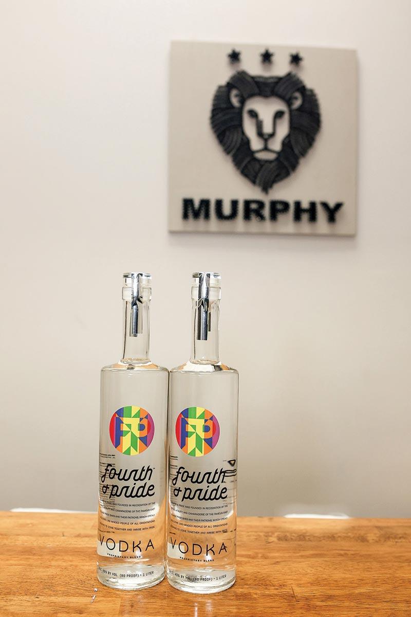 Fourth & Pride Vodka Team Visits Murphy Distributors