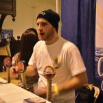 Grey Sail Brewing of RI, Sales Account Manager Dan Rivera.