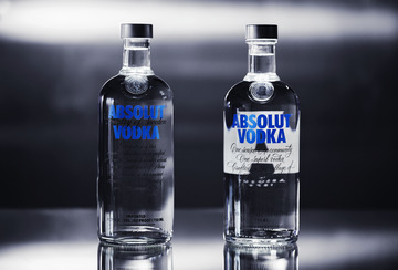 Absolut's Bottle Redesign Signals Eye to the Future
