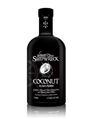 Brinley Gold Shipwreck Coconut Rum Cream