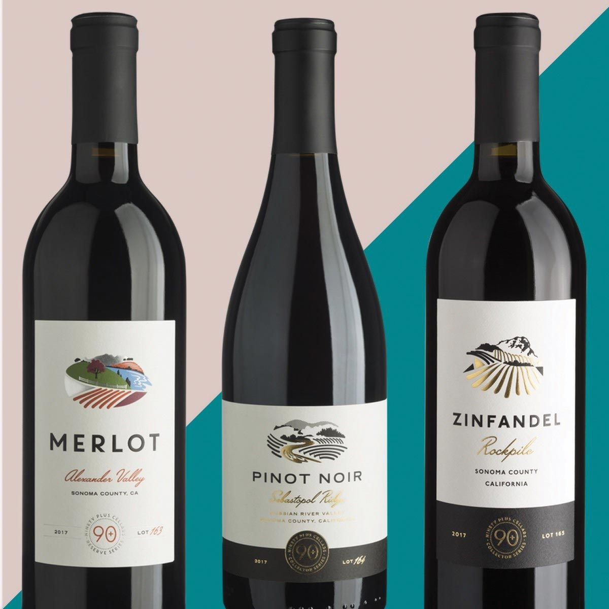 90+ Cellars Adds Three New California Wines