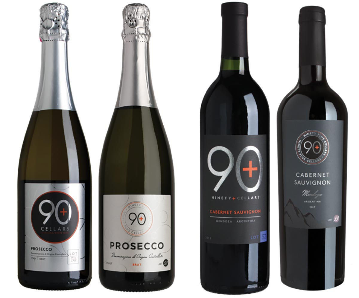 Latitude Beverage Company's 90+ Cellars Debut New Labels