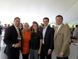 Phill Piranio, Vice President National Sales, Opici Wines; Linda Opici, CEO, Opici Wine Group; Dina Opici, President, Opici Family Distributing; Don Opici, Director, Opici Wines; Brian Lewis, General Manager, Opici Family Distributing.
