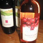 Nickle Creek Vineyard wines. Photo by Nancy Kirsch.