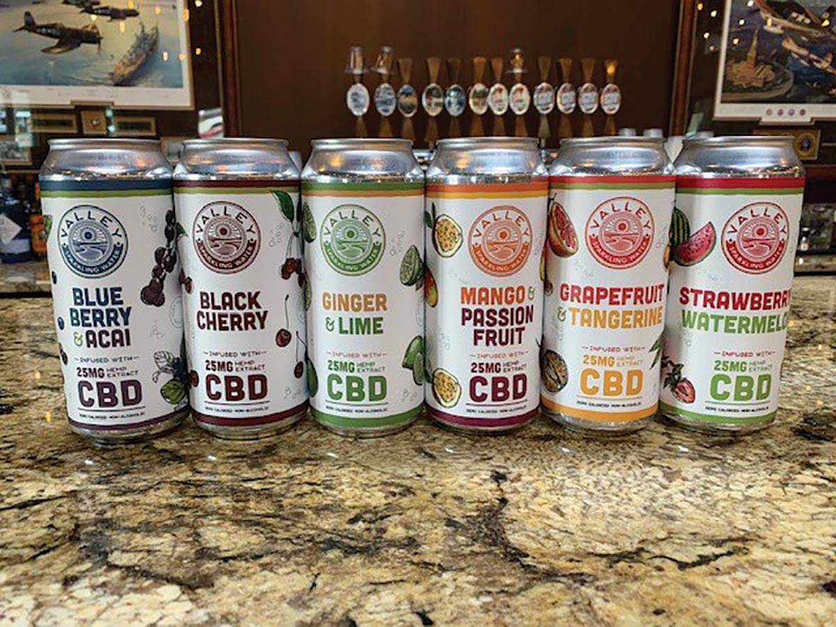 Connecticut Valley Brewing Launches New CBD Sparkling Water
