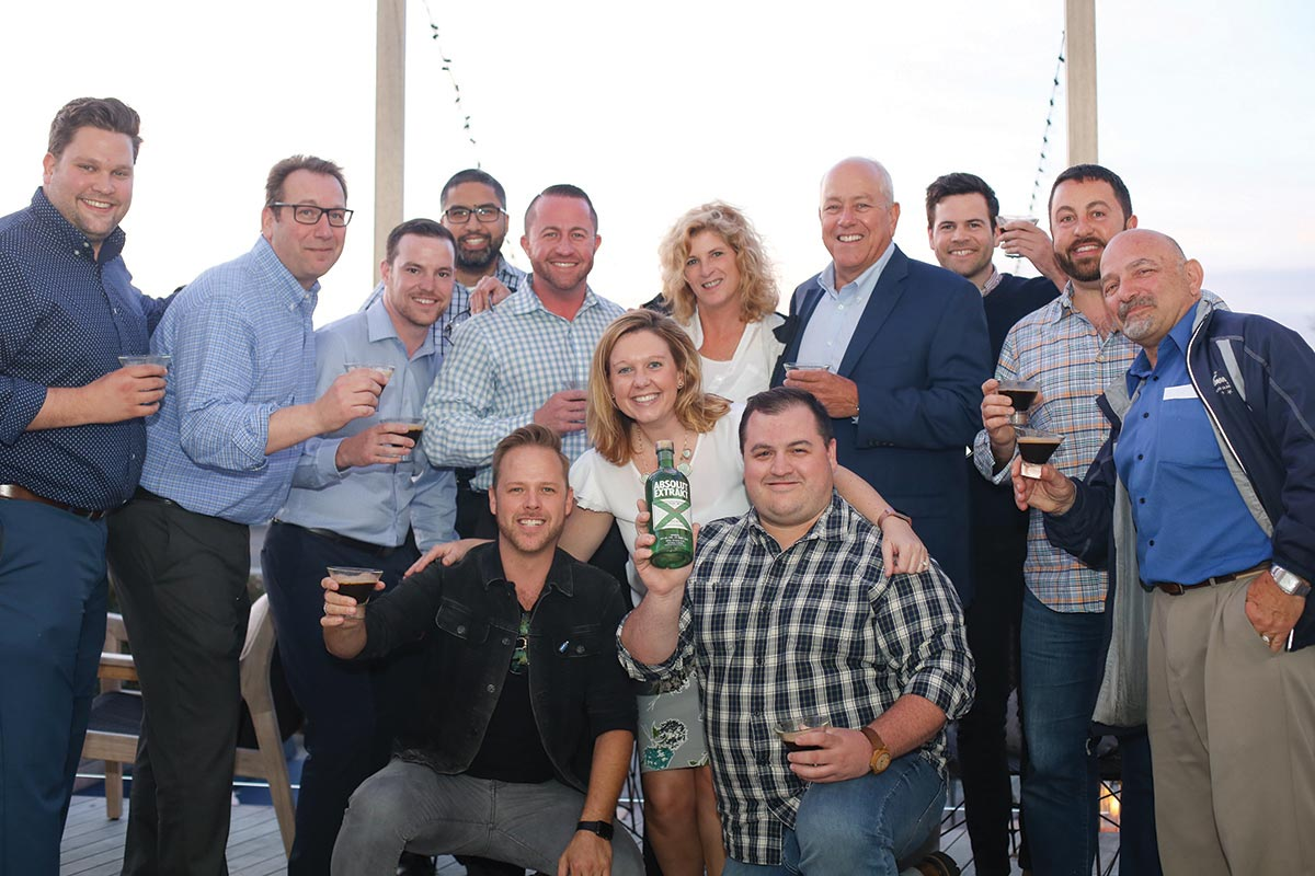 The Absolut Experience Brings Brand Session to Newport