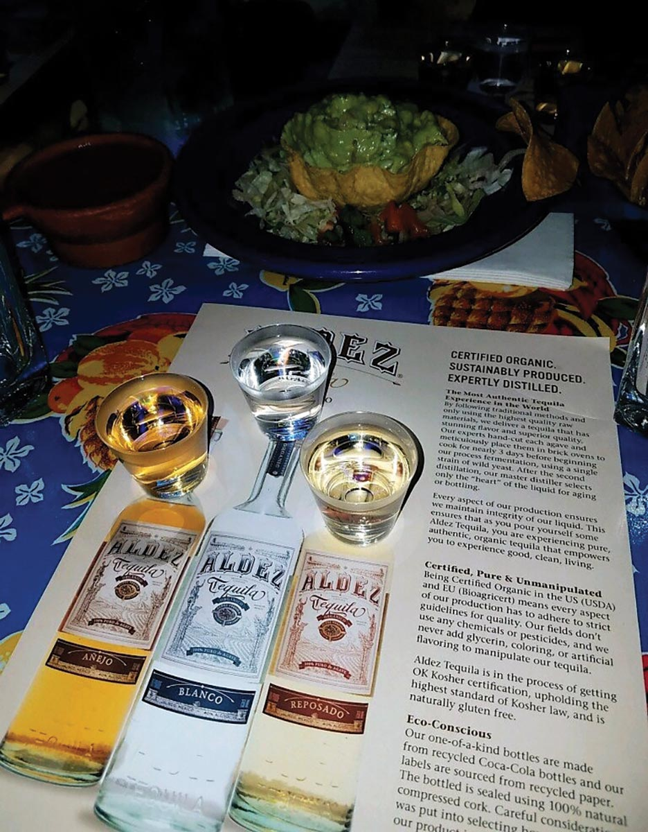 Eder Bros. Highlights Aldez Tequila at Tequila Mockingbird