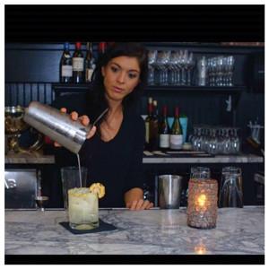 Amy Desmarais, Bartender