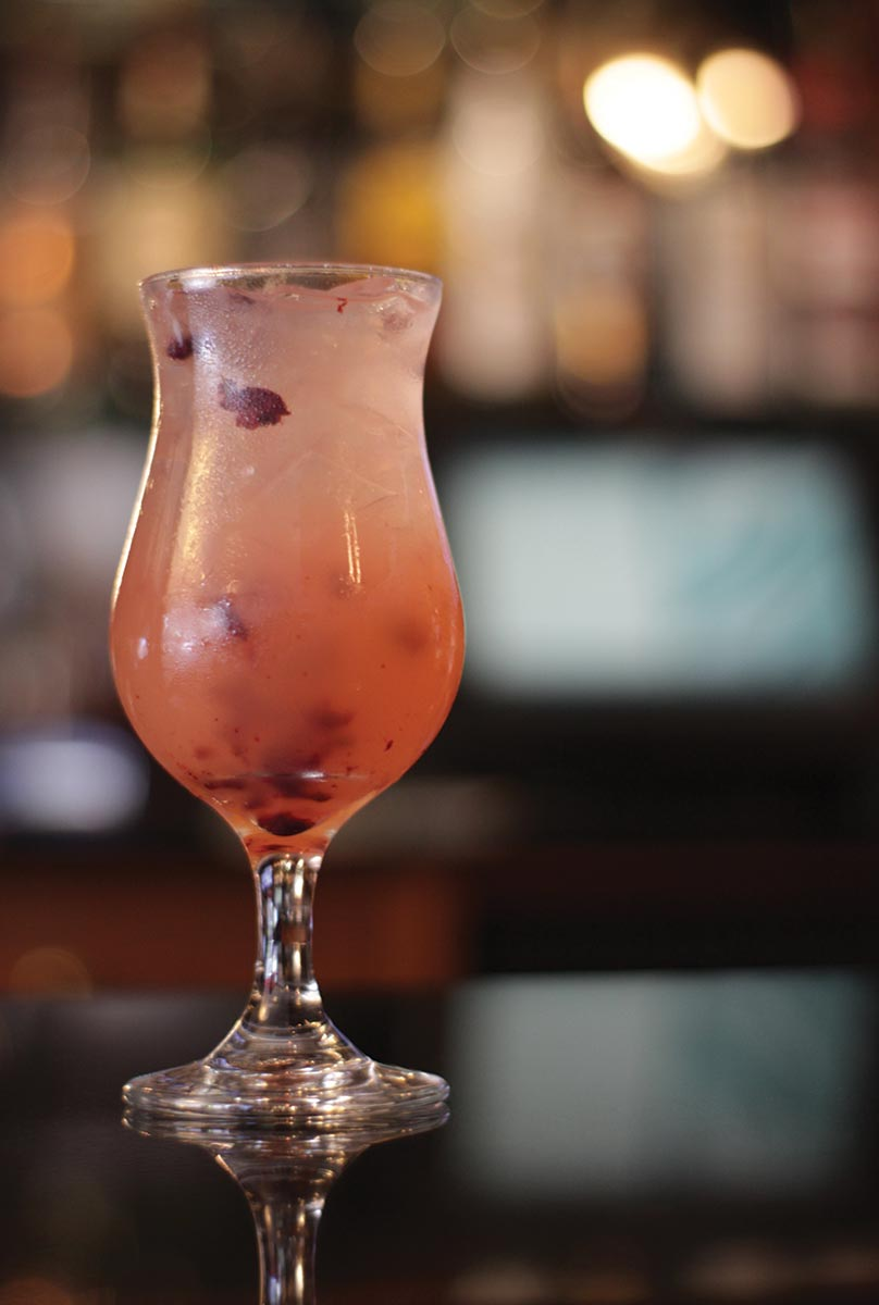 Serving Up: Basil Blueberry Lemonade at Angelo's Civita Farnese