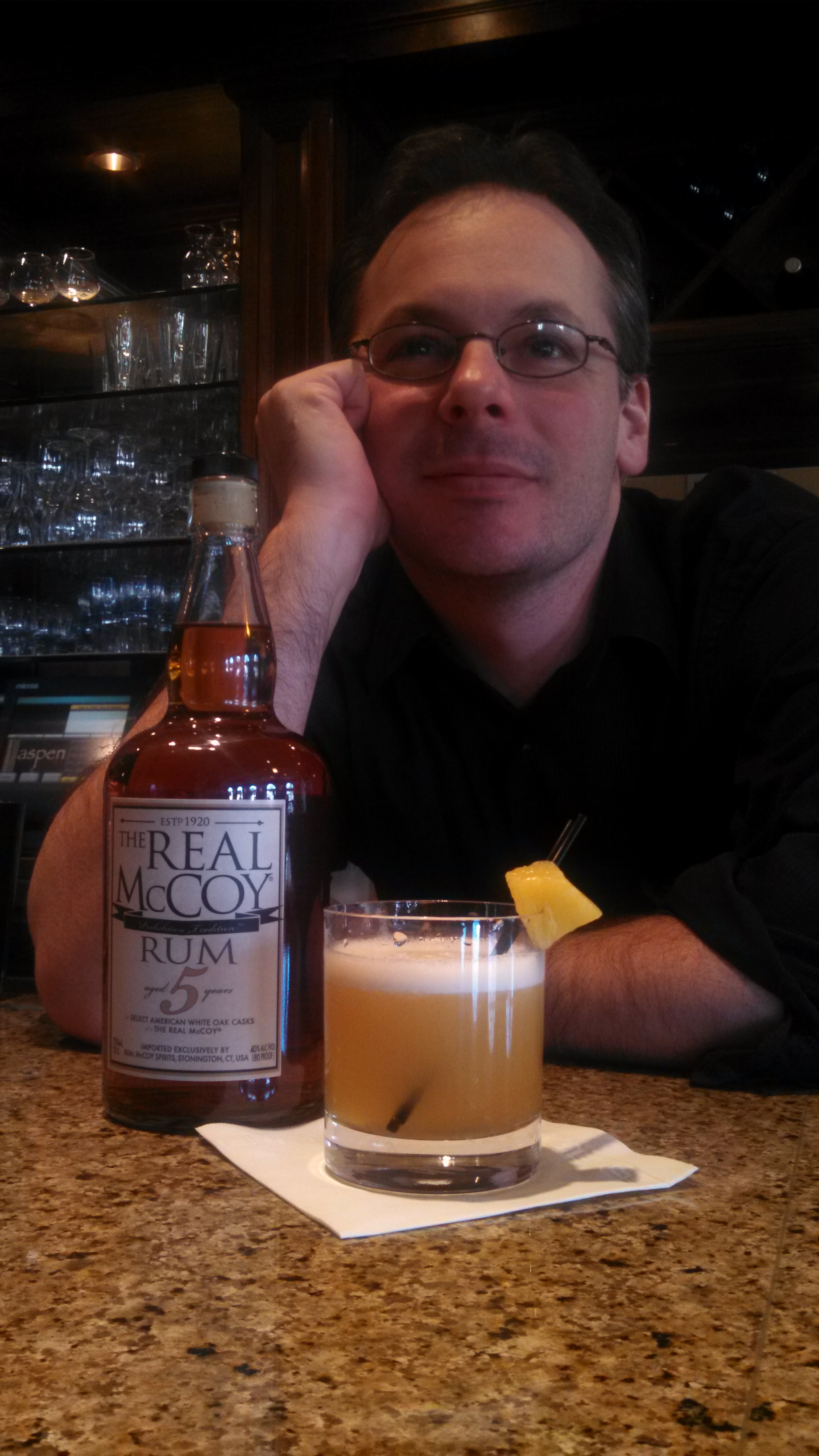 "Serving Up: Latitude 41's ""The Real McCoy Sour"""