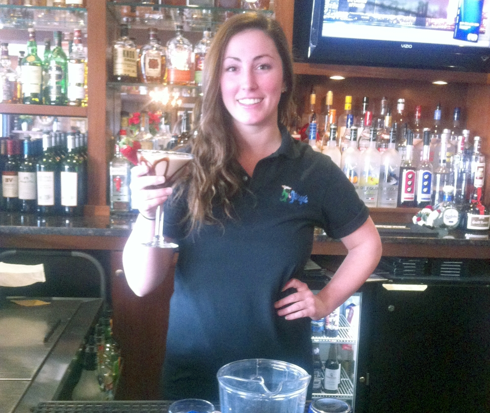 Serving Up: George's of Galilee's Chocolate Strawberry Martini