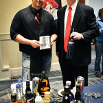Joe Aceto, Bar Manager Mezzo Grille and United States Bartenders Guild CT Chapter Member, and Gary Dritschler, Campari USA.