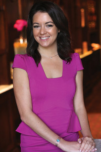 Jordan Vineyard & Winery's new Northeast Regional Sales Director, Ashley Cesario.