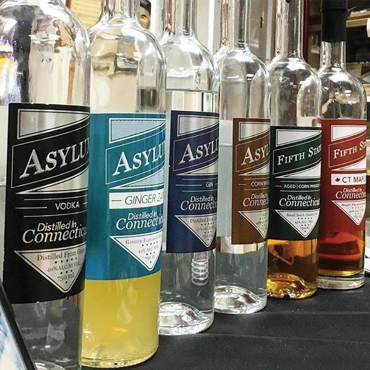 Northeast Beverage Adds Asylum Distillery Local Spirits Line