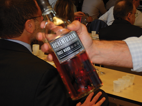 Master Scotch Ambassador Brooking Educates on Auchentoshan