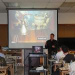 Simon Brooking, Beam Suntory's Master Scotch Ambassador during the presentation.
